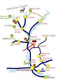 Mapa Leitosa