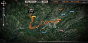 Tracker ruta Margaride