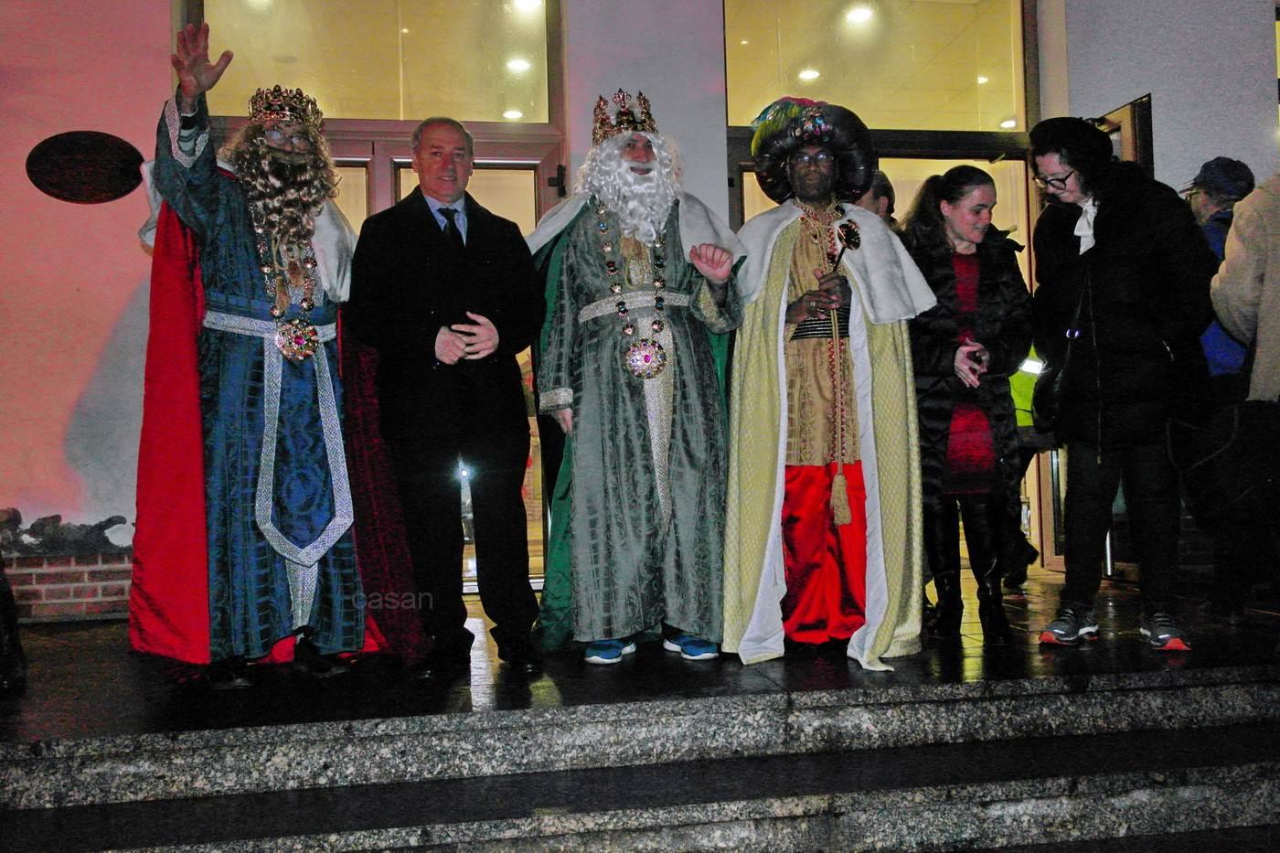 Llegada de los Reyes Magos a Monforte 2017