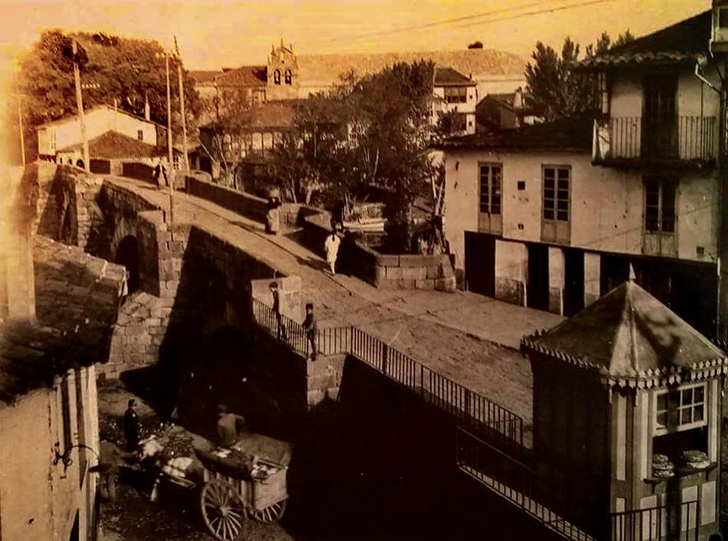 Puente viejo o medieval de Monforte